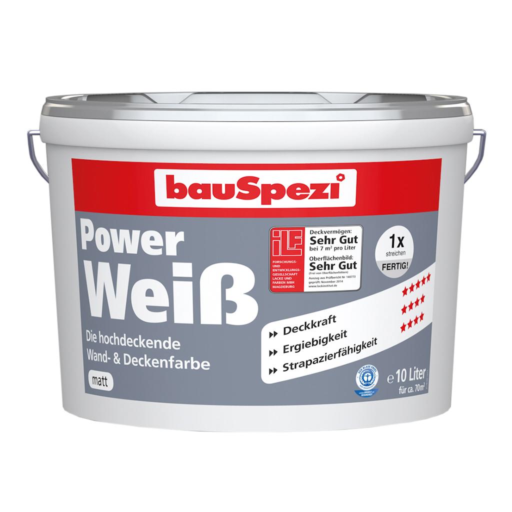 bauSpezi Power Weiß Wand- & Deckenfarbe