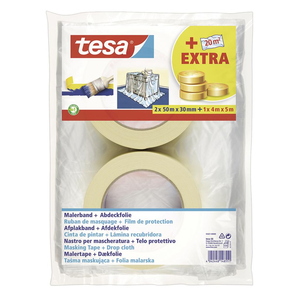 tesa Malerband Basic Promopack